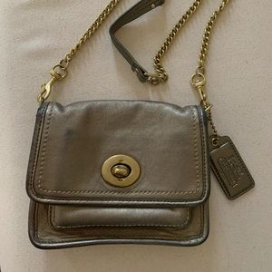 Coach Leatherware Bag Gold